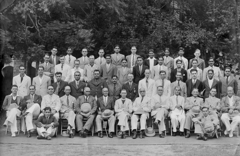 Bishop Cotton Old Boys St Peters Day Group 1937 Bangalore